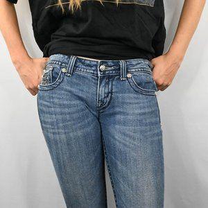 Miss Me Jeans - Miss Me Denim Boot Cut Jeans SZ: 27